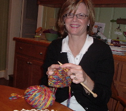 Aunt Wendy knits!