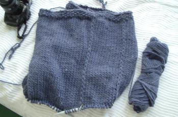 felty bag progress