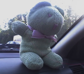 green baby bobbi bear
