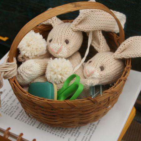 toy bunny parts
