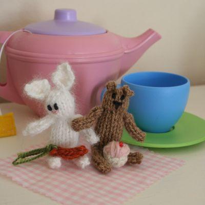 itty bitty rabbit and bear