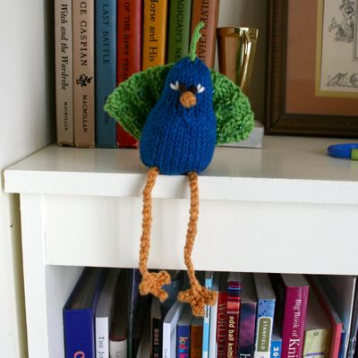 knitty peacock