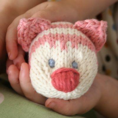pink cat head