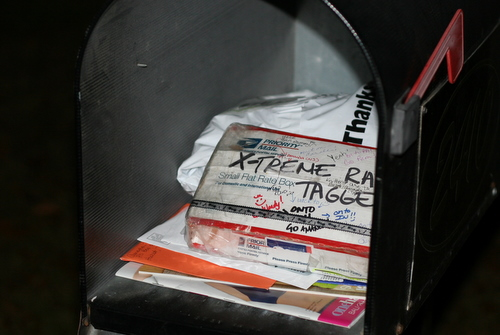 in the mailbox