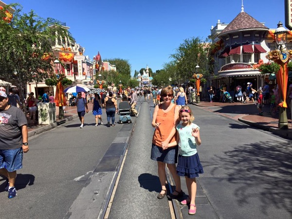 Main Street at Disneyland (Sleeping Beauty Castle)